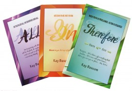 ALL, IN, THEREFORE Bible study Trilogy SET